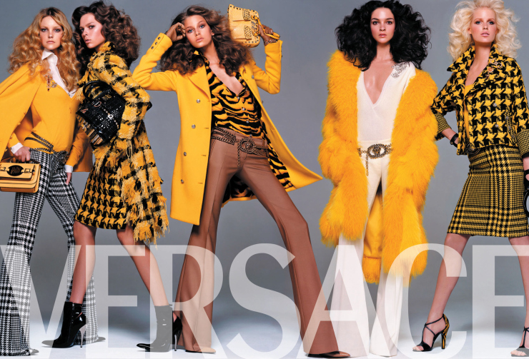 Versace AW04 Campaign